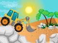 Trucks Desert Racing - Escolha uma das super escavadeiras para começar a jogar. Salte sobre os obstáculos sem cair, mostre toda a sua habilidade nessa corrida de caminhão com toda velocidade nesse deserto.