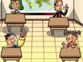 Um Jogo da Turma do Chaves, ajude o Professor Girafales a dar Aula em um ambiente que todos estejam bem comportados, antes que todos continuem a bagun�a de sempre voc� precisa prestar aten��o toda vez que alguem dormir ou fazer bagun�a voc� tem que arremessar o giz.