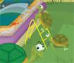 Seu objetivo e fazer com que as tartarugas iguais se toquem, use a tartaruga branca para emburrar as outras.