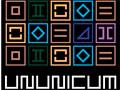 Ununicum - Você tem que movimentar as peças do tabuleiro. Seja habilidoso para formar grupos para ser retirados do jogo, observe muito bem para não mover para lado errado e acabar perdendo toda a sua jogada.