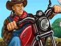 Ajude o fazendeiro a pilotar sua moto e recolher o dinheiro. Fique atento com as ovelhas que aparecerá para te atrapalhar, pelo caminho até achega faça manobras para marcar muitos pontos e tome muito cuidado para o tempo não esgotar.
