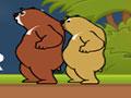 Wake Up Bear - Complete cada desafio auxiliando o urso. Passe pelas plataformas saltando para recolher as estrelas em cada estágio, tendo o cuidado com alguns perigos que tem até chegar no portal.