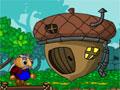 Woodcutter- Encontre uma maneira de sair desse labirinto. Você tem que ajudar o rei a chegar até sua casa, desobstrua o caminho para que ele consiga transitar sem perigo e recolha as nozes para marcar pontos.