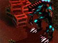 Xenosquad - Conduza uma tropa de soldados robôs para a batalha. Você tem que controlar todo e qualquer ação, clique sobre as mãos que aparecem para que eles comecem a se mover e tenha cuidado para não danificar suas armas.