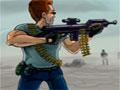 Zombie Invaders 2 - Centenas de zumbis estão vindo em sua direção, você em que fugir o mais rápido possível. Sua missão neste game é eliminar cada um usando as armas disponíveis, seja rápido para acertá-los antes que seja tarde demais.
