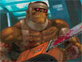 Zombie Warrior Man 2 - Você foi feito de cobaia pelos médicos e lhe transformaram em zumbi.  Percorra todo o hospital usando o seu equipamento destruindo tudo e todos pela frente.
