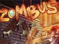 Jogo - Zumbus - Controle um ônibus pela cidade e passe por cima dos zumbis, você terá que exterminar todos e seguir até a área segura, recolha caixas e outros objetos pelo caminho e tenha muito cuidado para não destruir seu veículo.