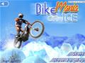Enfrente vários obstáculos na neve, nesse ótimo jogo de moto.
