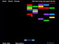 Vers�o do game Arkanoid, n�o deixa a bola cair e destrua todos os blocos da tela.