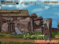 Esse jogo foi baseado no famoso Metal Slug. Mate os inimigos para passar de level.