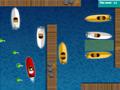 Jogo Online - Docking Perfection, Estacione o barco por diversos níveis diferentes e com o vento te atrapalhando, realize manobras difíceis para colocar o barco no lugar correto e no menor tempo possível, tendo como limite 60 segundos.