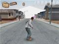 Jogo - Downhill Jam, Desça uma rua com seu Skate e faça muitas manobras radicais, aproveite para  fazer a coleta de todos os itens que estiver pelo seu caminho.