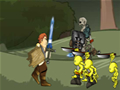 Jogo de aventura aonde você tem que salvar a princesa, lutando ganhando pontos, aprimorando a sua arma.