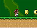 Colete todas as estrelas com Mario Bros. Use todos os �tens dispon�veis para limpar o caminho at� a estrela, e n�o esque�a de coletar as moedas.