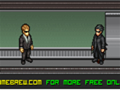 Tente ficar vivo pelo maior tempo possível na Matrix. Use tudo que você encontrar como arma, desde espadas até vasos e cadeiras!
