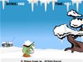 Ajude o monstro a comer todos os flocos de neve cadentes.