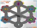 Jogo Online - Parking-Zone, Seu objetivo é mover os carros até o seu lugar correto. Obedeça a Cor do carro com sua respectiva cor da garagem.