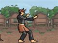 Lute para salvar sua aldeia de malfeitoras e arruaceiros em geral. Você pode optar por dois personagens diferentes.