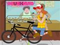Roube a bicicleta do policial e depois fuja, para não ser preso!