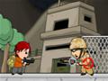 Resgate todos os seus amigos de suas prisões antes que o tempo acabe. Atire em todos os soldados que aparecem na sua frente e sempre pegue novas armas!