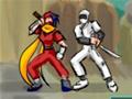 Vingue-se dos ninjas que invadiram sua vila e feriram seus amigos e familiares.