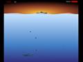 Acerte os submarinos inimigos com cargas de profundidade, antes que eles passem.