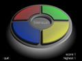 Teste sua memória, tente seguir a sequência aleatória de cores que o computador vai criando.