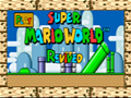 O cl�ssico jogo do Super Mario World.
