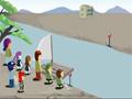 Jogo Teste de QI, Atravesse todas as pessoas de uma margem até a outra do rio, mas você deve obedecer as regras estabelecidas pelo jogo.