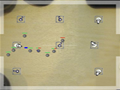Crie suas defesas e proteja sua base da invasão dos inimigos. Monte as torres em posições estratégicas pra conseguir passar de level.