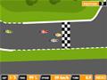 Corrida de motos com curvas alucinantes.