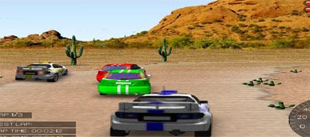 Jogo 3d rally racing
